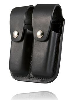 Boston Leather 5602 Double Mag Holder for .45