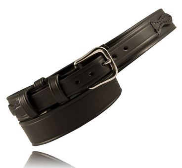 "Boston Leather 6512 1.5"" Ranger Belt [Clearance Size XS]"