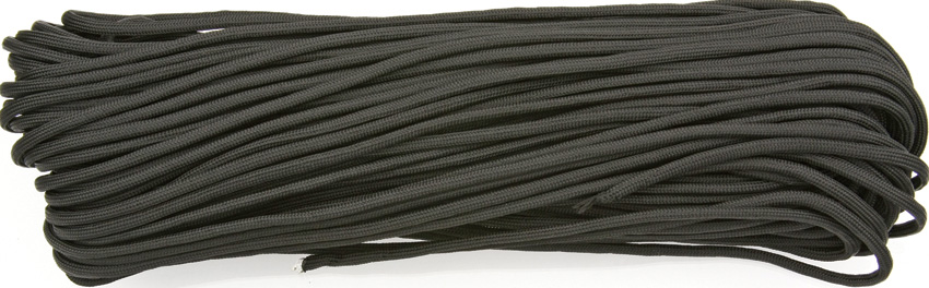 550 Paracord, 100Ft. MIL-SPEC - Black