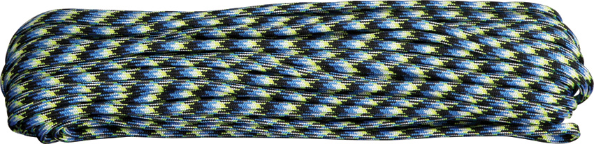 550 Paracord, 100Ft. - Blue Snake
