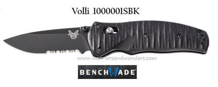 Benchmade Volli ComboEdge Black Assisted 1000001SBK (Online)