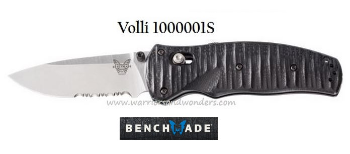 Benchmade Volli Satin ComboEdge Assisted Opening 1000001S