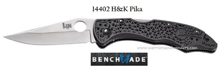 Benchmade 14402 Pika Drop Point - Plain Edge