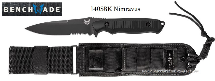Benchmade Nimravus W/Serration 140SBK