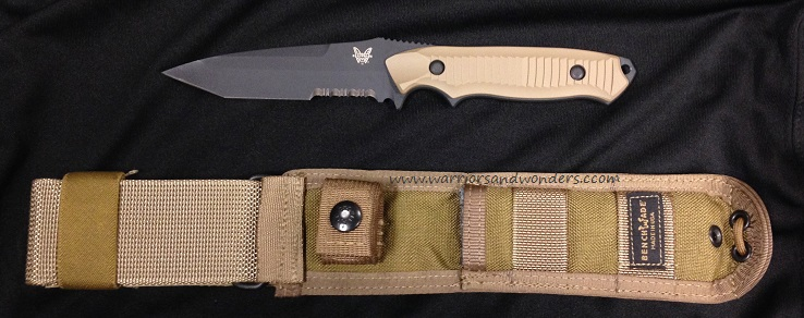 Benchmade Nimravus Coyote Handle Tanto w/Serration 141SBKSN