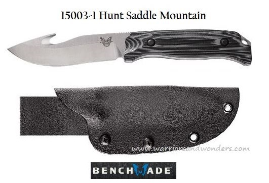 Benchmade Hunt Saddle Mountain Skinner - G10 Handle 15003-1