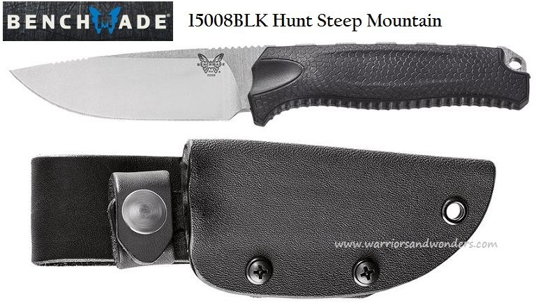 Benchmade Hunt Steep Mountain S30V w/Kydex Sheath 15008BLK