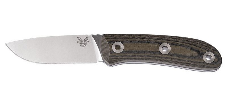 Benchmade 15400 Pardue Hunter S30V Micarta w/ Leather Sheath (Online Only)