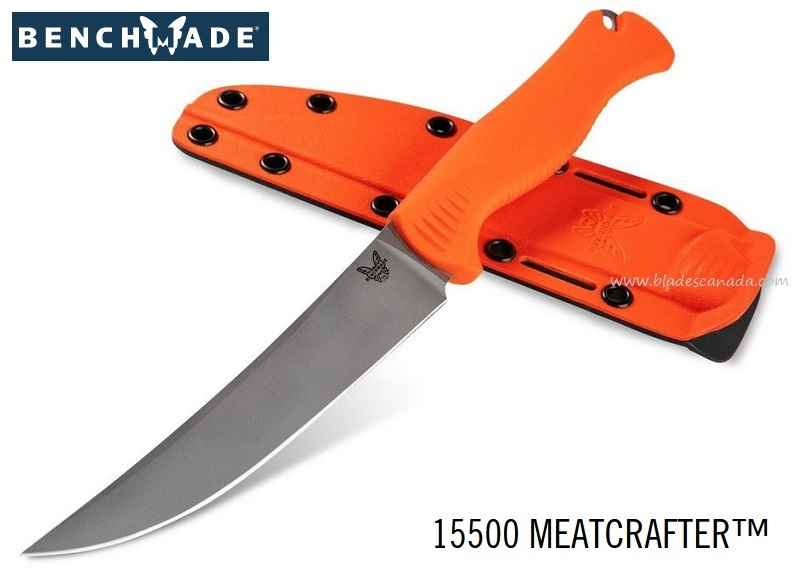 Benchmade Knives Meatcrafter Orange, CPM-154 Steel, 15500