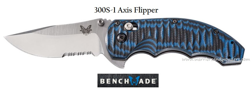 Benchmade Axis Flipper with Serration 300S-1