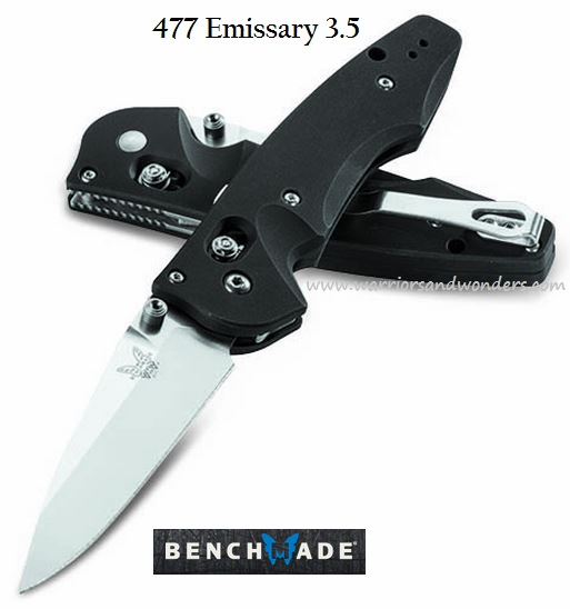 Benchmade Emissary, S30V Steel, Assisted Opening, BM477