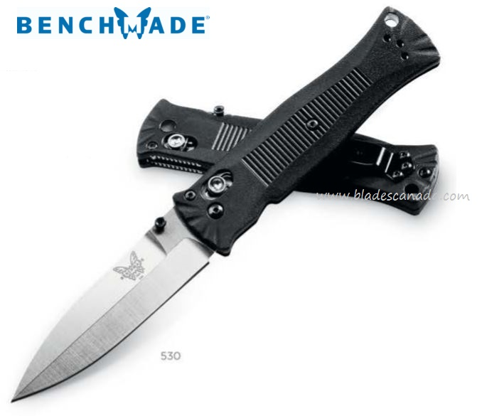 Benchmade 530 Pardue Spear Point Satin Plain Edge