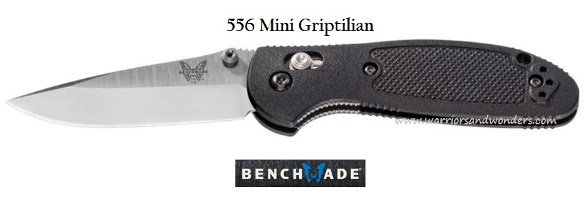 Benchmade Griptilian Mini DPT Plain Edge 556