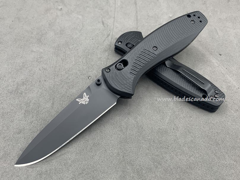 Benchmade Customized Barrage Osborne, M4 Steel, Black G10, Assisted Opening, 580CU11