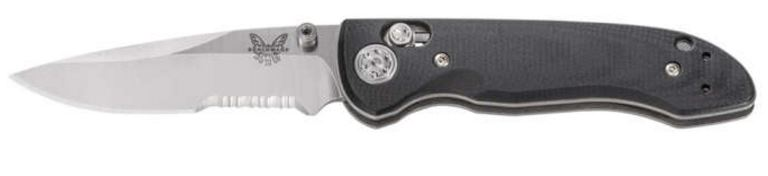 Benchmade Foray Folding Knife CPM-20CV - Serrated 698S