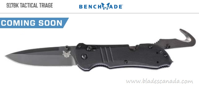 Benchmade 917BK Tactical Triage S30V Black Rescue (Coming Soon)