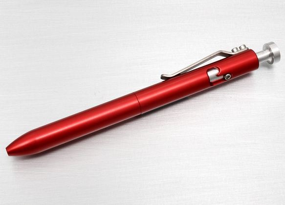 Karas Kustoms Bolt Pen Aluminum - Red