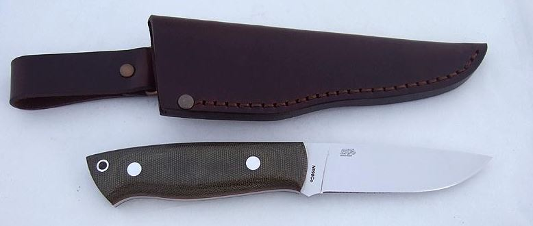 EnZo 2015 Trapper 95 N690co - Green Micarta