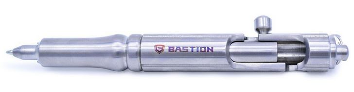 Bastion Bolt-Action Cannon Pen - Titanium