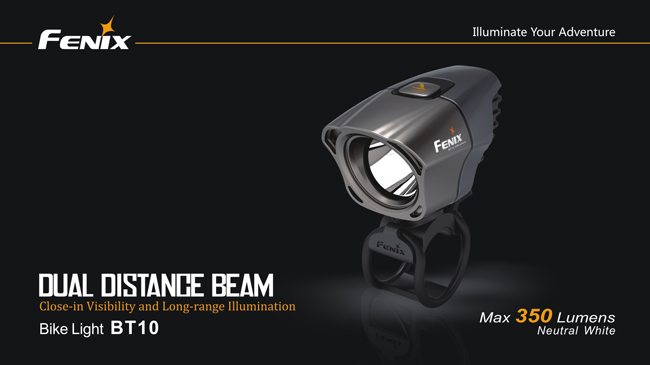 Fenix BT10 Bike Light (350 Lumens)