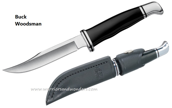 Buck Knives 0102BKS Woodsman Knife (Online Only)