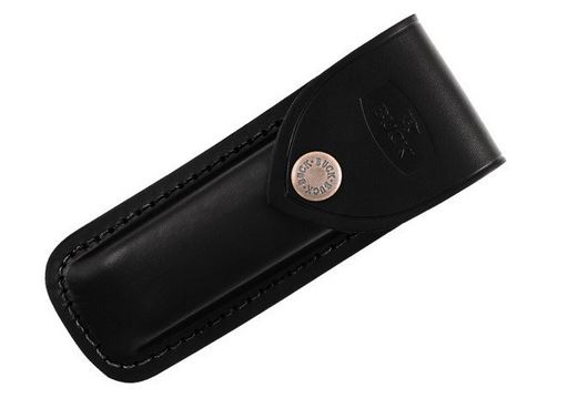 Buck 112-05 Black Leather Sheath for 112 Folding Hunter