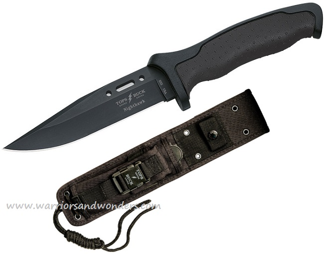 Buck / TOPS 0655BKSTP Short Nighthawk Knife