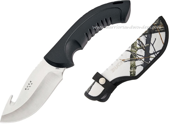 Buck Knives 0394BO1 Omni Hunter w/ Winter Camo Nylon Sheath