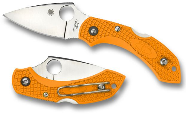 Spyderco Dragonfly Orange FRN Folding Knife C28POR2