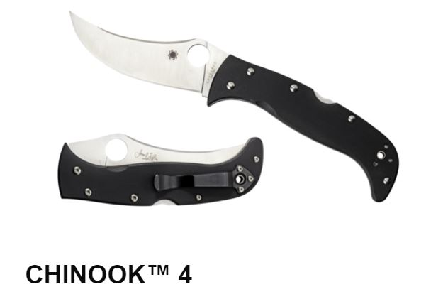 Spyderco Chinook 4 Folding Knife, CPM-S30V, C63GP4