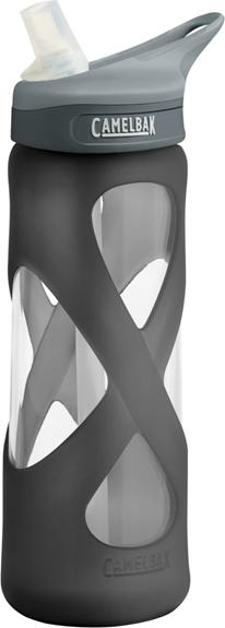 Camelbak eddy Glass Bottle 700ml - Charcoal