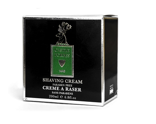 Castle Forbes Paraben Free Shaving Cream - 200ml