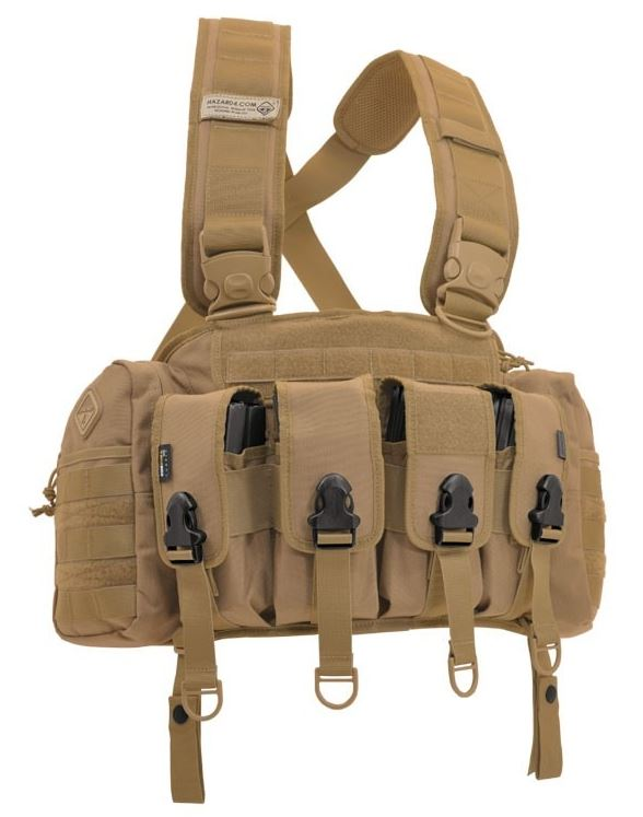 Hazard 4 Frontline Assault Loadout Chest Rig - Coyote