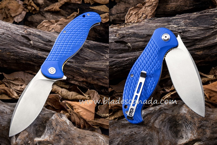 CIVIVI C802B Naja Folder - Blue G-10