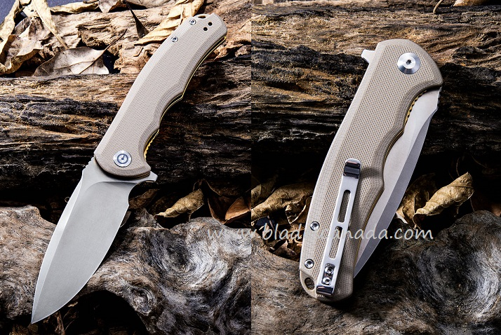 CIVIVI C803B Praxis - Brown G10