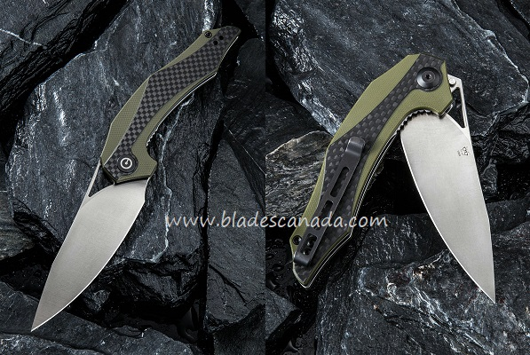 CIVIVI C904B Plethiros D2 Folder - Green G10