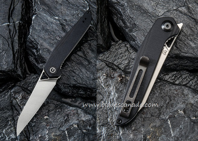 CIVIVI C905C Mckenna D2- Black G10 Handle