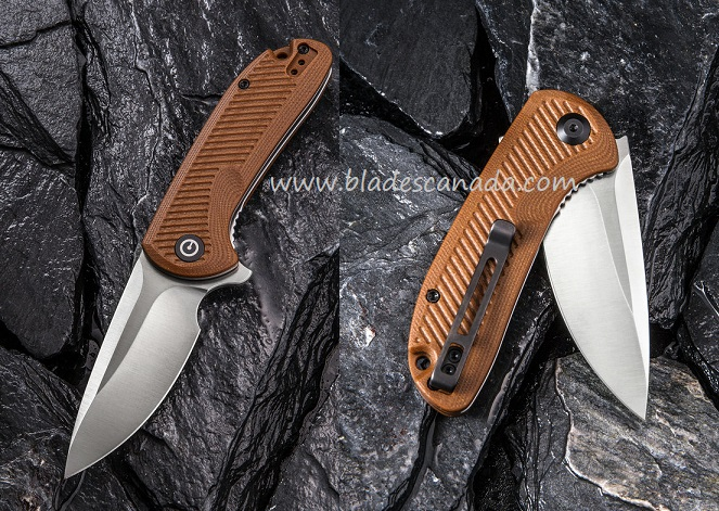 CIVIVI C906B Durus D2 - Brown G10
