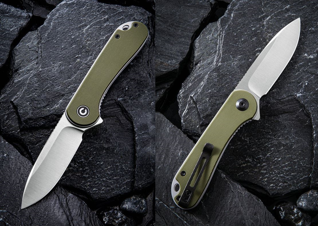 CIVIVI C907E Elementum D2 Folder - Green G10