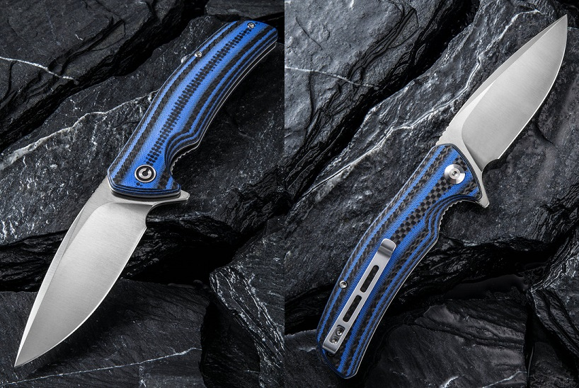 CIVIVI C908B Incite D2 - Blue G10 & Carbon Fiber