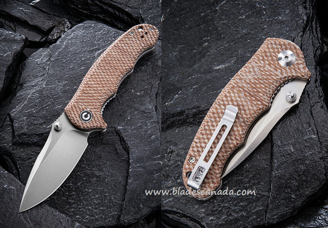 CIVIVI C913C Hooligan D2 Micarta - Snakeskin Tan (Online Only)