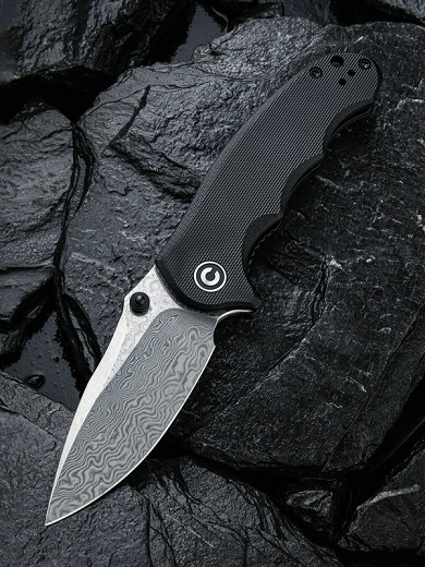 CIVIVI C913DS-1 Hooligan Damascus - Black G10
