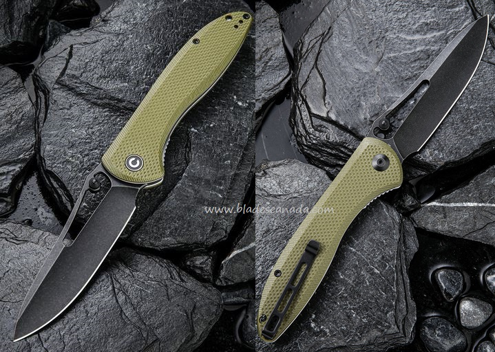 Civivi Picaro, D2 Steel, G10 OD Green, Linerlock, C916A (Online Only)