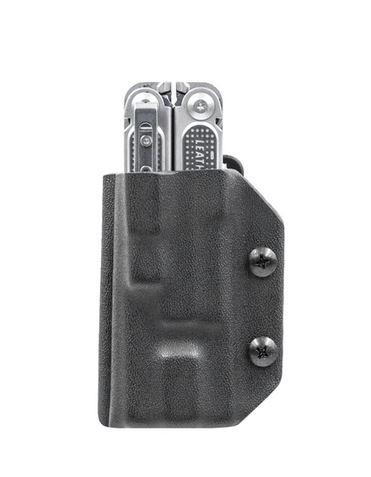 Clip & Carry Kydex Sheath for Leatherman Free P4- Black