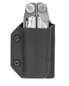 Clip & Carry Kydex Sheath for Leatherman Wave - Black