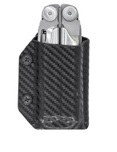 Clip & Carry Kydex Sheath for Leatherman Wave - Black Pattern
