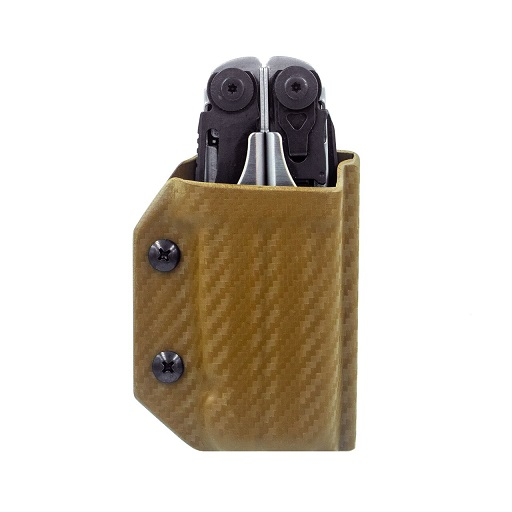 Clip & Carry Kydex Sheath for Leatherman Surge - Gold Pattern