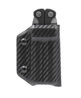 Clip & Carry Leatherman Charge Kydex Sheath - BLack Pattern