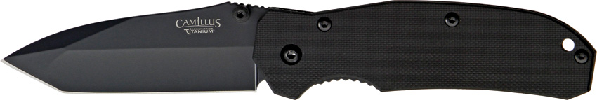 "Camillus 18673 6.75"" Ti VG10 Tanto Folder (Online Only)"