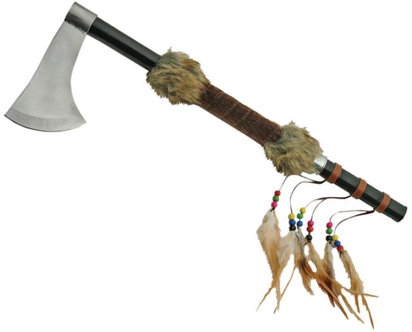 CNM Fur Trim Decorative Tomahawk (Online Only)